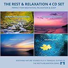Relaxing Nature Sounds 4 CD Set - for Meditation, Relaxation and Sleep - Nature's Perfect White Noise -