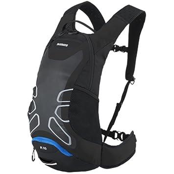 Mochila Shimano Rokko 16 litros negro/azul 2015: Amazon.es: Deportes y aire libre