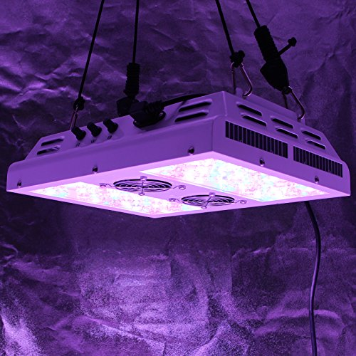51t1sW%2BrXwL - VIPARSPECTRA Dimmable Series PAR450 450W LED Grow Light - 3 Dimmers 12-Band Full Spectrum for Indoor Plants Veg/Bloom