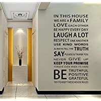 EMIRACLEZE Christmas Gift We are Family Quote English...