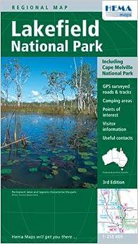 Lakefield National Park QLD National Parks Hema 9781865000169