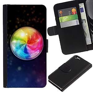 All Phone Most Case / Oferta Especial Cáscara Funda de cuero Monedero Cubierta de proteccion Caso / Wallet Case for Apple Iphone 6 // Design Color Ball