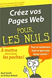 Créer des pages Web