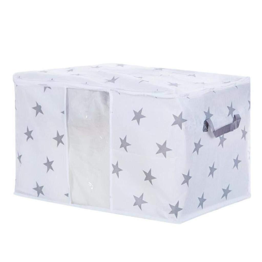 Sacchetto pieghevole di immagazzinaggio vestiti coperta trapunta armadio maglione organizzatore di sacchetti,Yanhoo Storage organizer box per viaggi, lavoro sul campo, deposito,casa Yanhoo-Borsa cosmetica