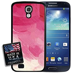 Pink Brush Strokes Painting Galaxy S4 Hard Case