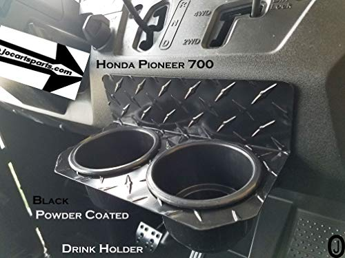 J & O Carts Parts Honda Pioneer 700 Black Powder Coated for sale  Delivered anywhere in USA