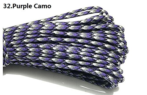 100ft 550 Paracord Parachute Cord Lanyard Mil Spec for sale  Delivered anywhere in USA
