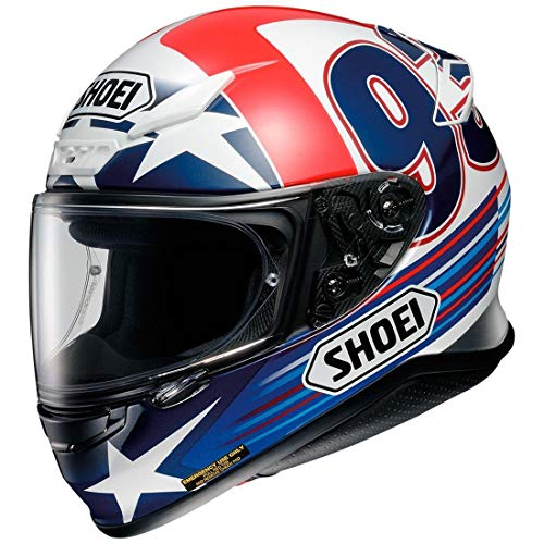 Shoei Indy Marquez RF-1200 Street Bike Racing Helmet - TC-2 / Large