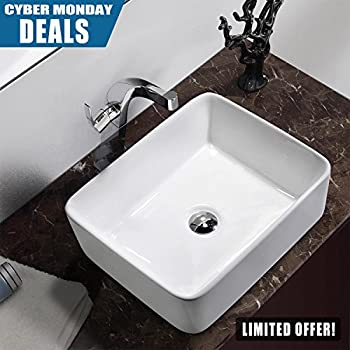 bathroom vessel sinks. Comllen Above Counter White Porcelain Ceramic Bathroom Vessel Sink Art Basin