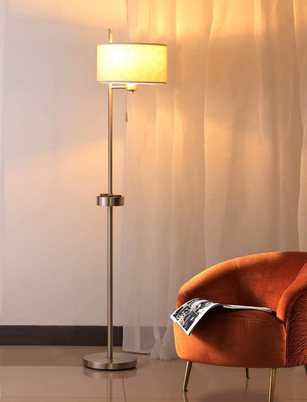 Modern USB Floor Lamp