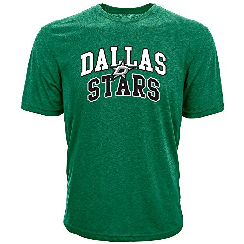 - Levelwear NHL Dallas Stars Mens Performance Arch Richmond Mens Tee, Rider Green, Small