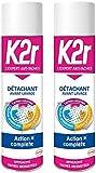 K2r Détachant Avant-lavage Aérosol 400 ml - Lot de 2