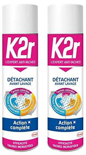 K2r – Quitamanchas avant-lavage aerosol 400 ml – juego ...