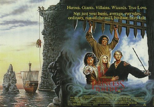 The Princess Bride Classic Romantic Movie Poster 27 x 39 inc