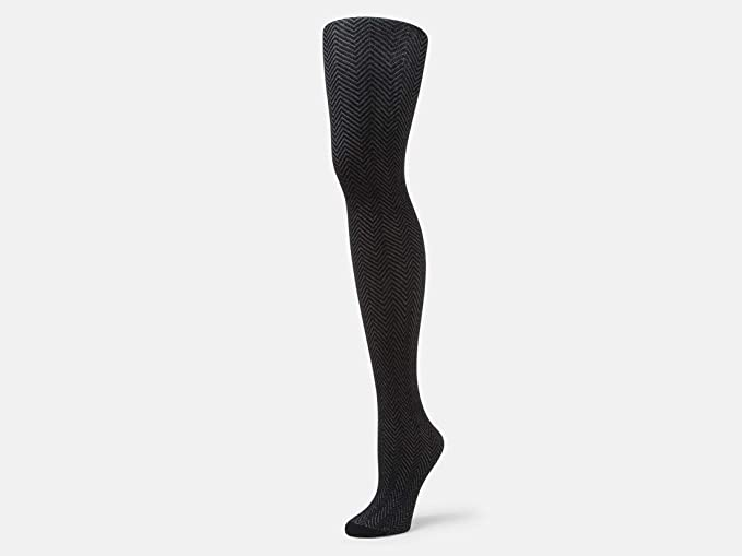 878b60f0d980a Amazon.com: B.ella Herringbone Tights (Black - Small): Clothing