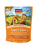 Halo Spot's Stew Holistic Dry Puppy Food, Wholesome Chicken, 3 LB Bag of Natural Puppy Dog Food