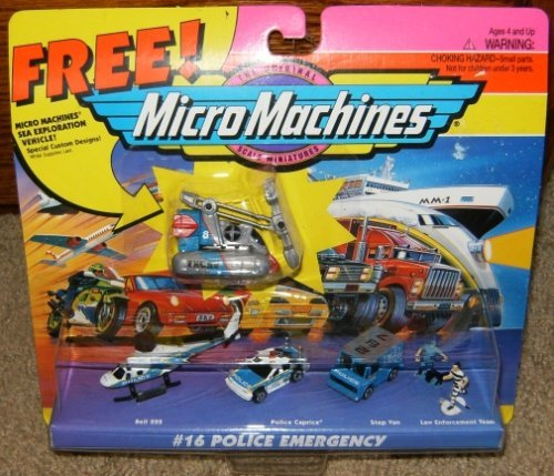 222 Scale Bell - Micro Machines Police Emergency #16 Collection