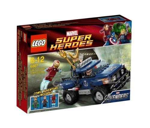 LEGO: Super Heroes: Loki's Cosmic Cube Escape ()