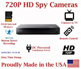 SecureGuard Blu-Ray Player 720P Spy Camera SD Card DVR Self Recording Spy Nanny Camera Review