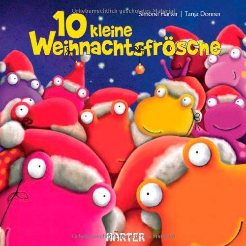 10 kleine Weihnachtsfrösche
