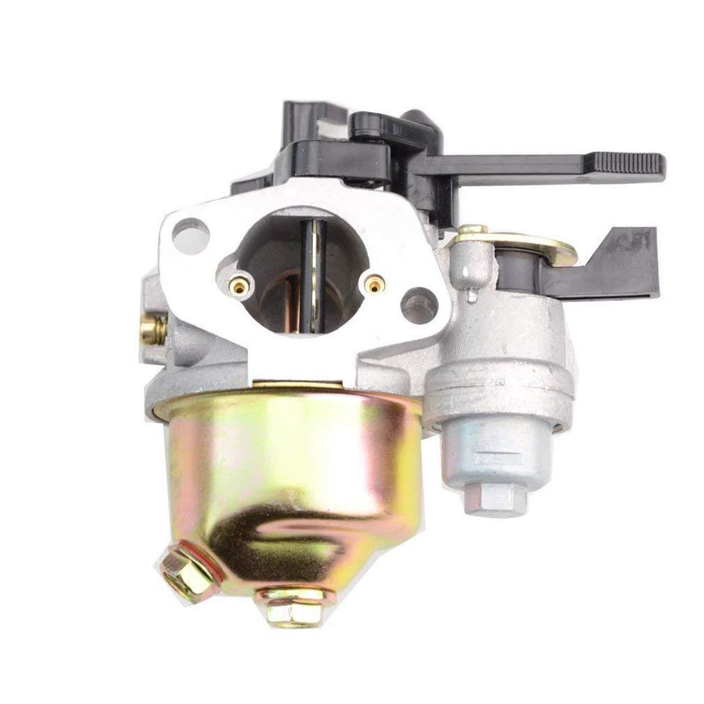 GOOFIT 19mm Vergaser f/ür Gx160 5.5hp Gx200 Engine 16100-zh8-w61 mit Choke Hebel