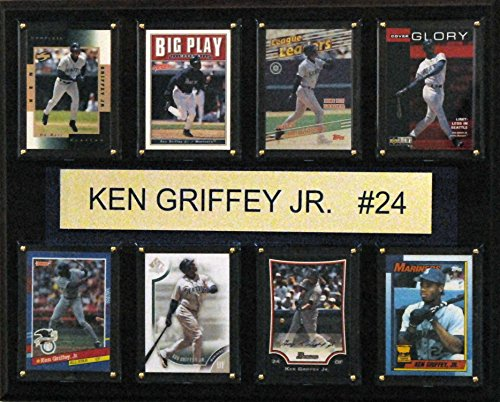 MLB Seattle Mariners Ken Griffey Jr. Seattle Mariners 8-Card Plaque, 12 x 15-Inch