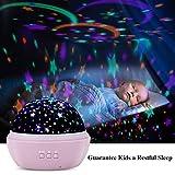 TekHome 2019 New Star Ocean Projector Night Light for Kids Bedroom, Baby Light