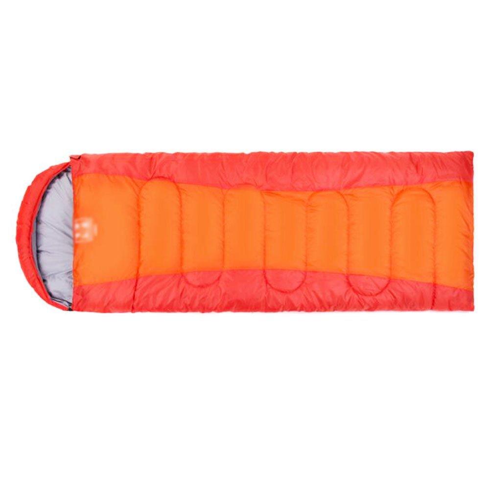 ポータブル防水多機能Sleepingバッグマットquilt-orangeレッド B01FS7568K
