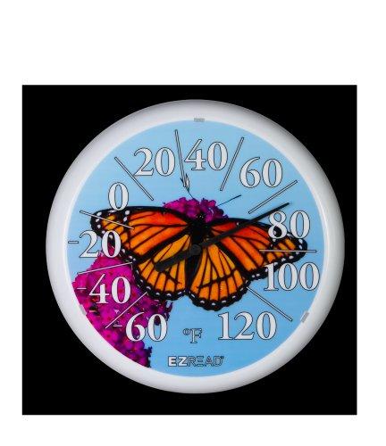 Headwind Consumer Products E-Z Read Thermometer Butterfly 13.25in by Headwind Consumer Products