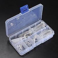 LAAT Portable Lunettes Optique Réparation Outils Lunettes Optique Réparation Assortiment Kit Vis Outil Silicone Écrou Nose Pad Set
