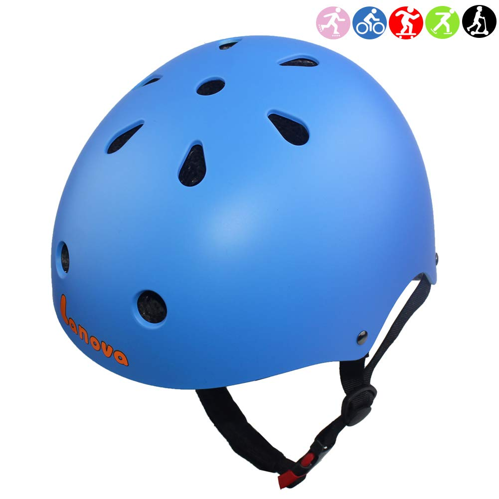 Lanova Toddler Helmet CPSC Certified Kids Bike Helmet Adjustable from Toddler to Youth Age 3-8 11 Vents Safety Ventilation Design for Kids Cycling Skating Scooter