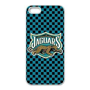 NFL Jacksonville Jaguars White Phone Case for iPhone 5S