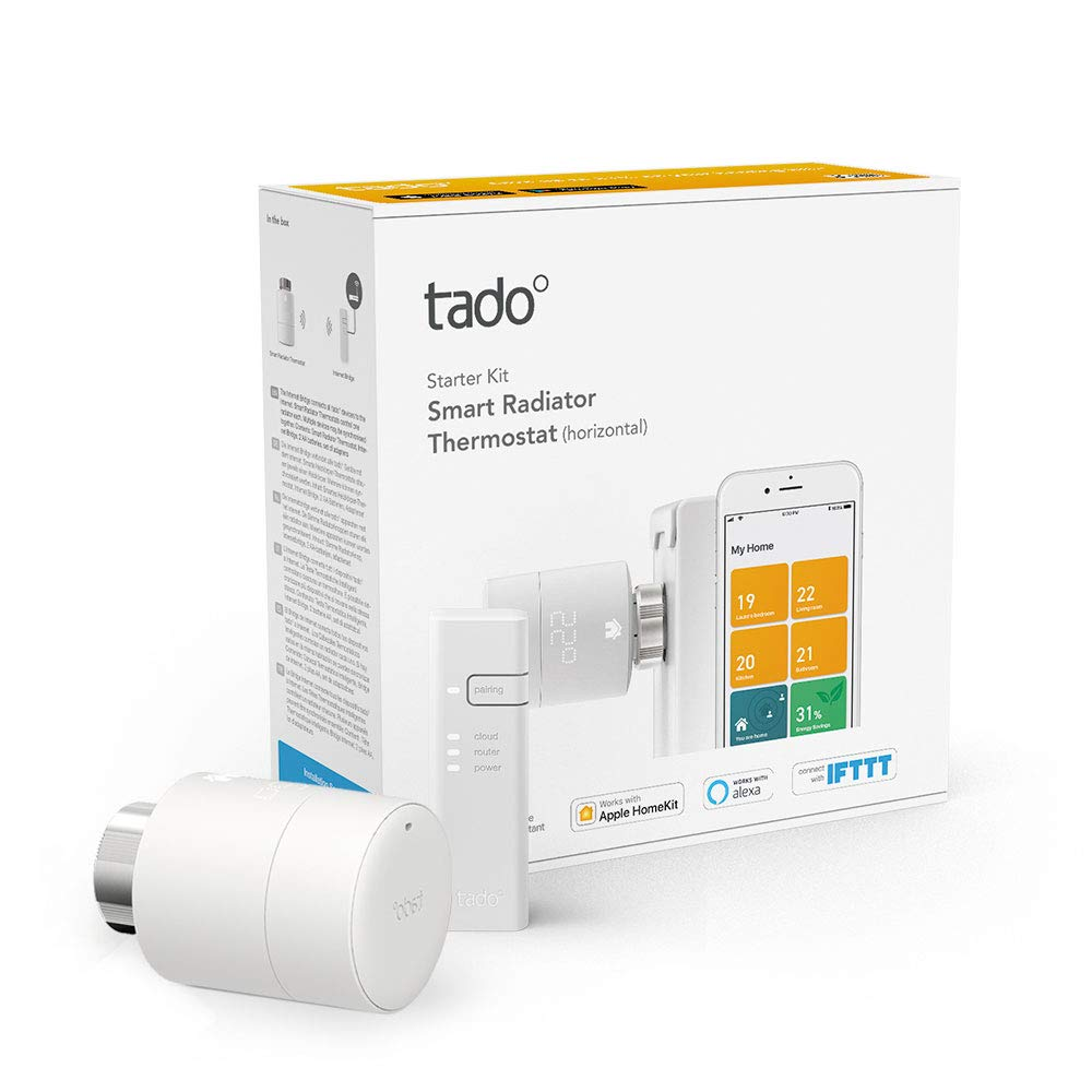 [amazon.de] Smart termostat Tado Starter Kit V3+ za 85,99€ umjesto 129,99€