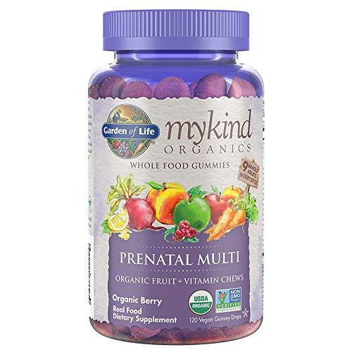 Garden of Life - mykind Organics Prenatal Gummy Vitamins - Berry - Organic