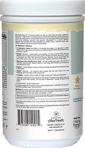 Maxi Health Naturemax – Soy Protein – Creamy Vanilla – Diet Energy Support – 1 lbs Powder – Kosher