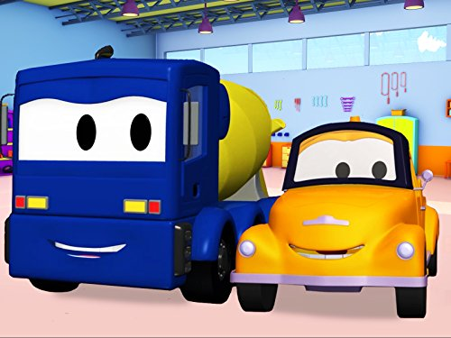 Tom The Tow Truck and Christopher the Concrete Truck