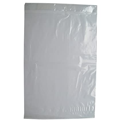 50 CLEAR TRANSPARENT PLASTIC SELF SEAL PACKAGING MAILING BAGS - LARGE SIZE  12 x 16