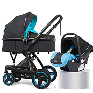 Amazon Com Pu Luxury Car Seat Stroller Baby 3 In 1 Baby 2 In 1