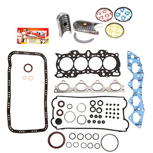 ine Rering Kit FSBRR4030EVE\0\0\0 97-01 Honda CR-V 2.0 DOHC B20B4 B20Z2 Full Gasket Set, Standard Size Main Rod Bearings, Standard Size Piston Rings ()