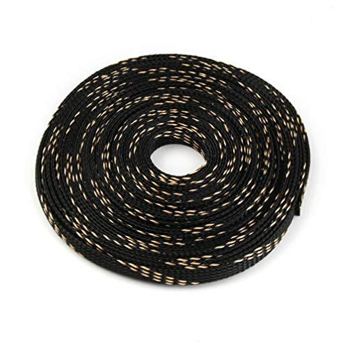 5M 6mm 5Colors Tight PET Cable Sleeves High Density Wire Gland Protection Braided Cables Sleeve Insulation Expandable Sleeving by MEIZOKEN (Image #1)