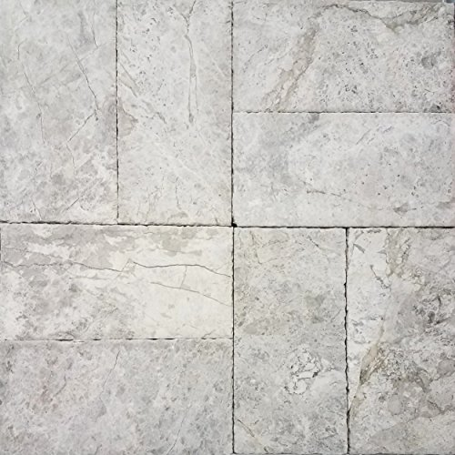 SAMPLE - Marble Pavers 6x12 (Tundra Grey) Pool & Patio, Driveway, Backyard, Outdoors & Indoors (Concrete Patio Pavers Over)