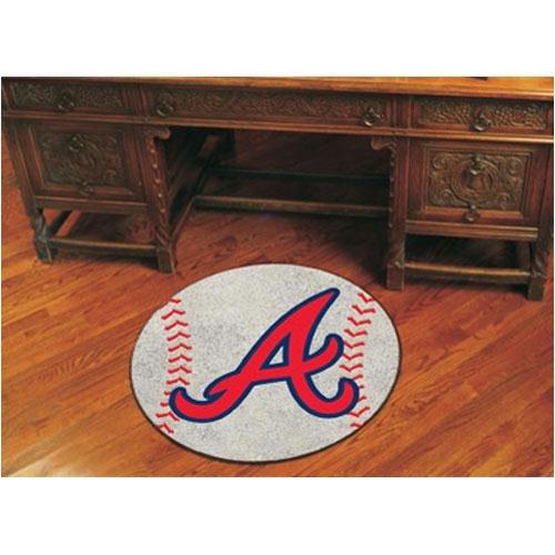 - Fanmats Atlanta Braves Baseball Mat - Atlanta Braves One Size