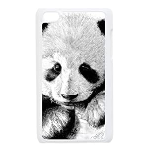 QSWHXN Phone Case Panda,Customized Case For Ipod Touch 4