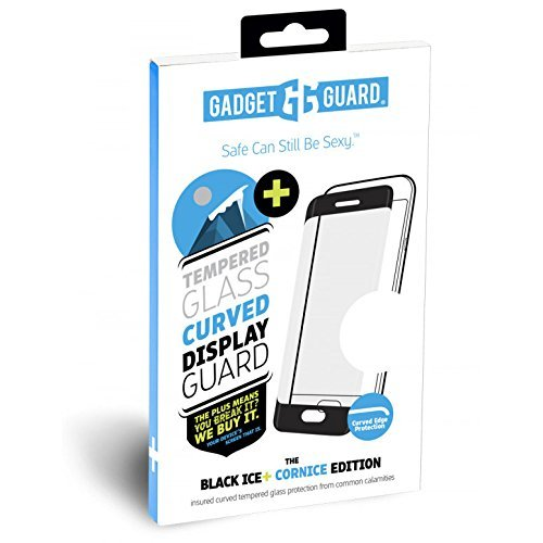 Gadget Guard Black Ice Plus Cornice Curved Edition Tempered Glass Screen Guard for Samsung Galaxy S9 - GGBIPCC208SS04A by Gadget Guard