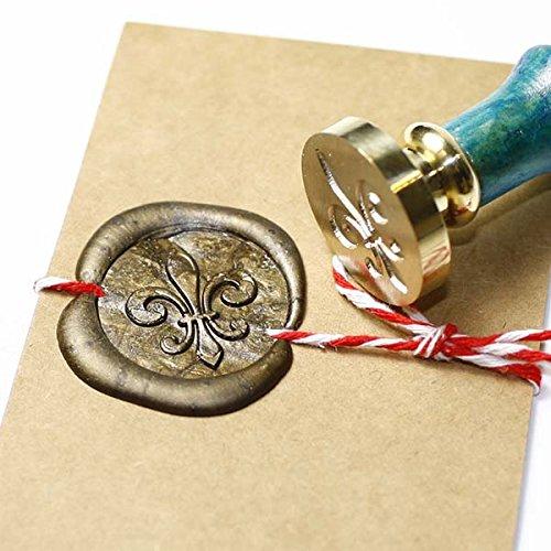 - Fleur De Lis Seal Stamp Stamp, Sealing Stamp Set, Seal Wax Stamp, Wax Seal, 25mm Initial Sealing Stamp