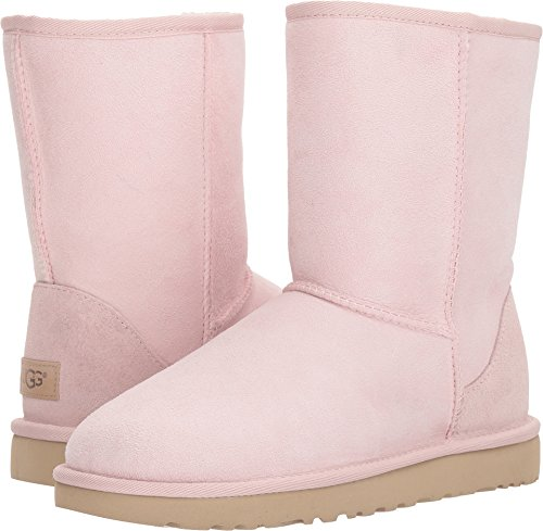 UGG Women's Classic Short II Fashion Boot, Seashell Pink, 10 M US by UGG