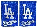 Los Angeles Dodgers Glitter Logo Garden Flag