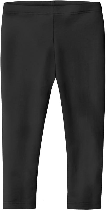 Hello Bee Capri Leggings Knit Cotton Crop Grils Leggings for School//Holiday Play