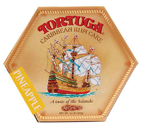 - TORTUGA Caribbean Pineapple Rum Cake - 16 oz. - The Perfect Premium Gourmet Gifts