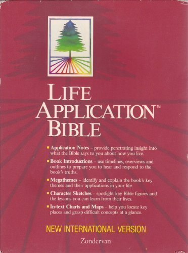 Holy Bible: Life Application Bible/New International Version/Black Bonded Leather